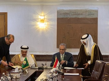 In detail .. This is what Iraq agreed with the GCC countries? 00001111